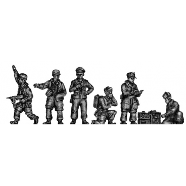 Fallschirmjager Officers and radio ops