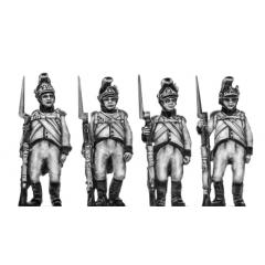 German fusiliers, helmet, order arms