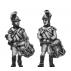 German fusilier drummer, helmet