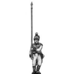 German fusilier standard bearer, helmet