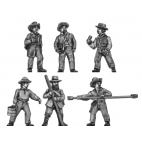 Artillery crew in hat