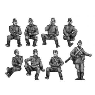 Soviets sitting