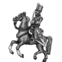 Hussar officer, shako rouleau