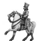 Hussar trunpeter, shako rouleau