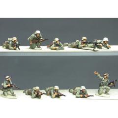 DAK Infantry section prone