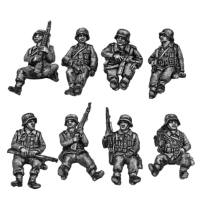 German Tank riders – Set 1