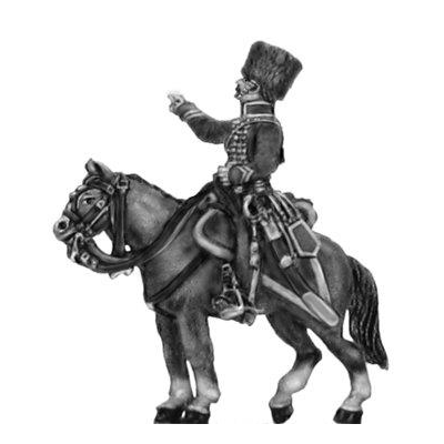 Chasseur a cheval de la garde (later uniform) Officer