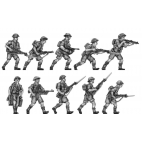Western Desert Force Infantry, advancing