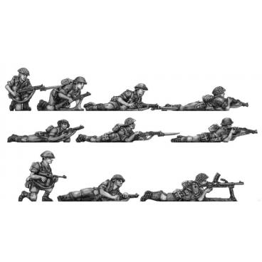 Western Desert Force Infantry, prone
