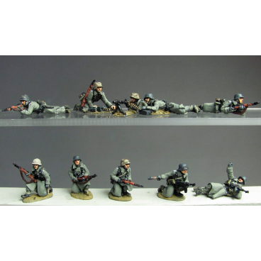 Greatcoat infantry prone
