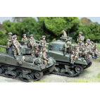British Infantry tank riders – Sets 1 and 2