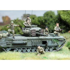 British tank crew bailing