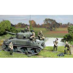 British tank crew re-arming