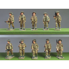 Infantry squad, walking