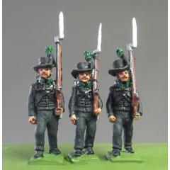 Avantgarde marching muskets