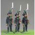 Avantgarde Muskets marching, Waterloo