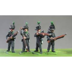 Avantgarde muskets, skirmishing