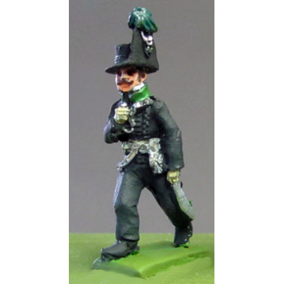 Avantgarde Muskets Officer, Waterloo