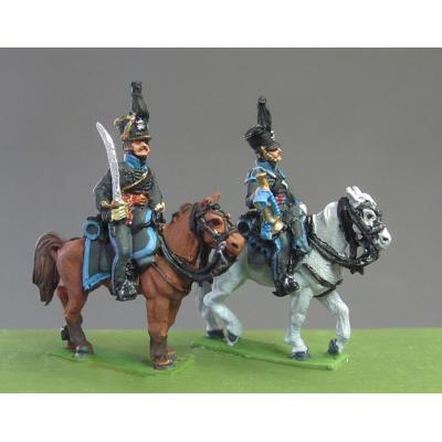 Hussar Trumpeter, Peninsula and Waterloo