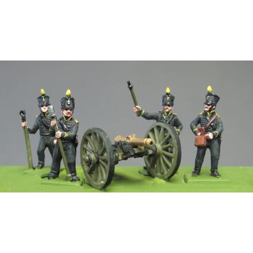 Foot Artillery Crew, Waterloo