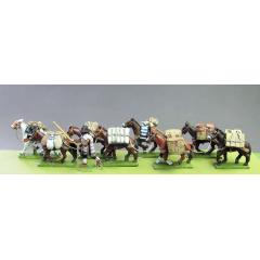 Mule train set 1