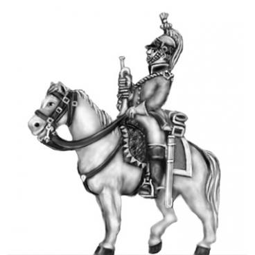 Dragoon Trumpeter, habit veste