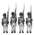 Grenadiers, epaulettes, moustaches, sabre, covered shako