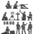 Fallschirmjaeger command section