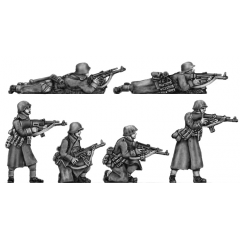 German Infantry, greatcoats with STGw44