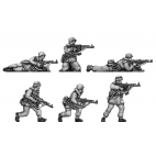 German Infantry, winter camo suits with STGw44