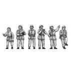 German flak crew - winter suits
