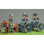 Royal artillery limber riders