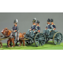 Royal artillery limber riders