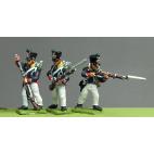 Young Guard, Waterloo 1815, skirmishing