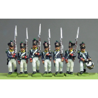 Young Guard, Waterloo 1815, marching