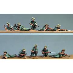 Burma Hats, prone