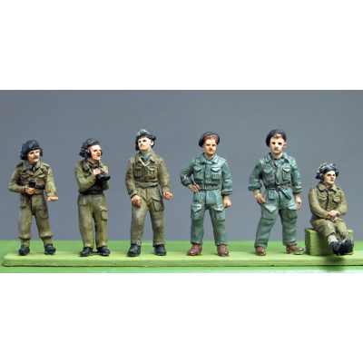 RAC Crew set 1 full figures