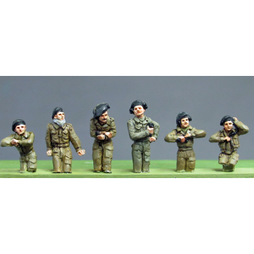 RAC Crew set 3 half figures
