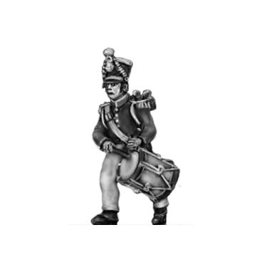 Young Guard, Waterloo 1815, drummer