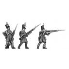 Silesian Landwehr, British shako, litewka, skirmishing