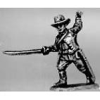 Officer hat, jacket, sword
