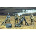 Winter 12cm Gw42 mortar and crew