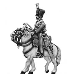Saxon Hussar Trumpeter