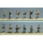 Americans in Greatcoat, advancing