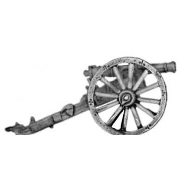 6pdr gun, light