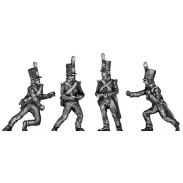 Foot Artillery, crewman, moving gun