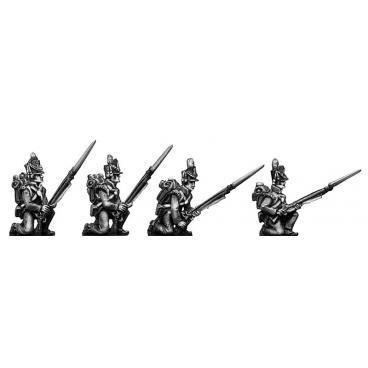 Flank Company kneeling