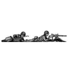 30cal MG firing