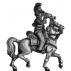 British Household Cavalry trumpeter