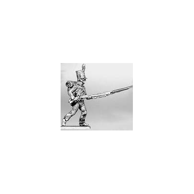 Centre company, advancing levelled musket
